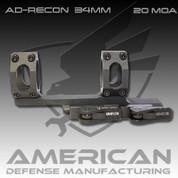 American Defense AD-RECON: 34mm Scope 20 MOA
