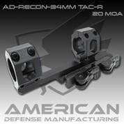 American Defense AD-RECON: 34mm SCOPE 20 MOA w/Tactical Levers