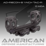 American Defense AD-RECON: S 1 Inch Scope 0 MOA w/Tactical Levers