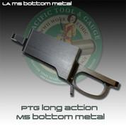 PTG LA M5 Bottom Metal: Remington Long Action (LA) Stealth M5 Detach Mag Bottom Metal