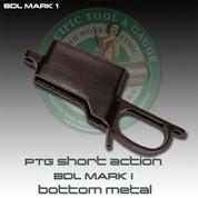 PTG BDL Mark 1: Rem Short BDL Bolt in Bottom Metal- Mark 1 Mag