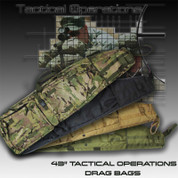 "Tactical Operations SM DB: 43"" Small Drag Bag"