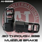 Accuracy International AI-26803: .30/ .338 cal Muzzle Brake