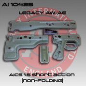 Accuracy International AI-10425: Rifle Stock Sides Pistol Grip SA 1.5- Green