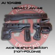 Accuracy International AI-10426: Rifle Stock Sides Pistol Grip SA 1.5- Black