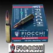 Fiocchi 308MKB: Exacta 308 Win (7.62 NATO) Sierra MatchKing BTHP 168 GR 20/Box