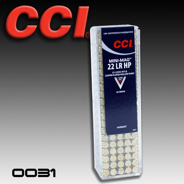 CCI 0031: Speer Mini-Mag  22LR 36gr 100/Box