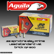Aguila B222332: .22 SuperExtra 40gr Eley Prime Lead Bullet Standard Velocity