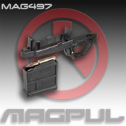 Magpul MAG497 Blk: Bolt Action Magazine Well- Hunter 700 Stock