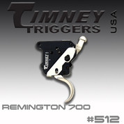 Timney 512: For the Remington 700 w/Safety, Nickel Plated