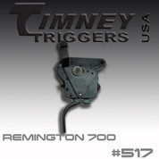 Timney 517: For the Remington 700 w/Safety- Straight Trigger