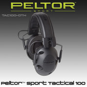 Peltor TAC100-0TH: Sport Tactical 100 Electronic Hearing Protector