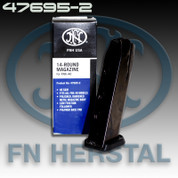 FNH 47695-2: FNX-40 40 S&W Magazine Stainless Black