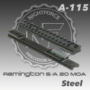 Nightforce A115: Rem 700 S/A 1pc 20 MOA Base
