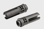 SureFire Warcomp 556 1/2x28: Ported 3-Prong Flash Hider, Serves as Suppressor Adapter for 556 SOCOM Suppressors w/1/2x28 Thread