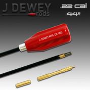 Dewey 22C-44: .22 Caliber Nylon Coated Rod- 44 Inches