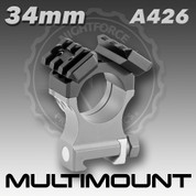 Nightforce A426: 34mm Multimount
