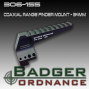 Badger Ordnance 306-155: Coaxial Range Finder Mount - 34mm (ITAR)