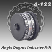 Nightforce A122: Angle Degree Indicator For Right-Handed Action