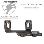 "American Defense AD-RECON 30-1 STD:  1"" Tube Cantilever Mount 1.380"" High 30 MOA"