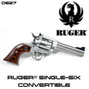 Ruger 0627: Single Six 22-22Mag 4-5/8SS AS 0627 Lipsey Exclusive