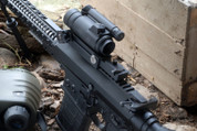 Spuhr SM-101QD-1: Ballistic Adjustable Mount for Aimpoint M4 Sights 7.62 250 to 600 Meters