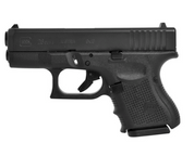 "Glock BCYF840: G26 9mm Compact 3.5"" FX Sts w/Two 10rd Mags"
