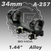"""Nightforce A257: 1.44"""" 20MOA 34mm Unimount"""