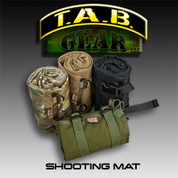 Tab Gear Shooting Mat: Pollok Shooting Mat w/Buckles