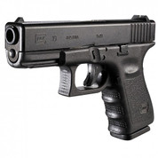 "Glock Gen 3: G19 9mm 15+1 4"" FS w/Two 15rd Mags, Acc & Case"