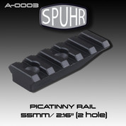 Spuhr A-0003: Picatinny Rail 55mm