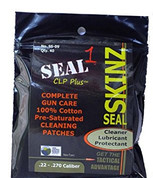 Seal 1 SS-09: Seal Skinz Pre-Saturated Patches .22 - .270 (40 Per Bag)