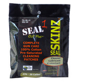 Seal 1 SS-10: Seal Skinz Pre-Saturated Patches .270 - .35 (25 Per Bag)