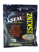 Seal 1 SS-12: Seal Skinz Pre-Saturated Patches .38 - .45 (25 Per Bag)