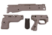 Accuracy International AI-25251PB: AT Rifle Folding Skin Set- Pale Brown