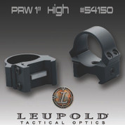 "Leupold 54150: PRW 1"" High scope rings"
