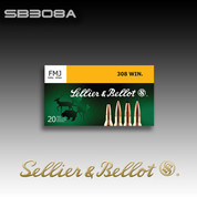 Sellier & Bellot .308 Win 147gr FMJ