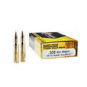 Black Hills 308 Win 180gr Nosler Accubond 20/Box