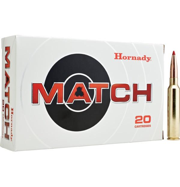 Hornady Match Ammunition: 300 PRC 225GR ELD® MATCH, 20 Rnd Box