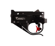 Timney 1022CE: Ruger 10/22 Calvin Elite - Black Housing, Curved Red 1.5 lb