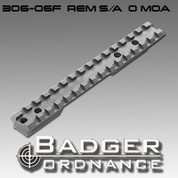 Badger Ordnance 306-06F: S/A Zero Cant