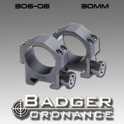 Badger Ordnance 306-08: Standard Height 30mm Ring  .823""