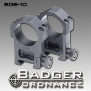 Badger Ordnance 306-10: Ultra High (AR-15 Flat Top) 30mm Ring 1.40""