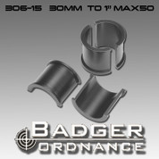 Badger Ordnance 306-15: Max-50 Scope Ring Reducer