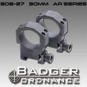 "Badger Ordnance 306-27: 34mm Ring (AR Series Rifles) 1.275"" High"