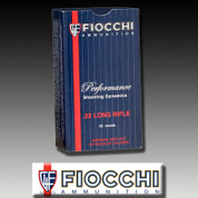 Fiocchi 22FHVCHP: 22 LR Copper-Plated Hollow Point 40 gr 500/Box
