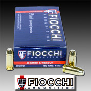 Fiocchi 40SWD: Pistol Shooting Dynamics 40 S&W FMJ Flat Nose 180gr 50/Box