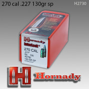 Hornady 2730: .270 Caliber 130gr InterLock 100ct/Box