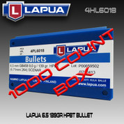 Lapua 4HL6018: Scenar 6.5mm (.264) 139gr HPBT 1000/Box