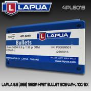 Lapua 4PL6019: 6.5 cal 136gr Scenar-L 100/Box